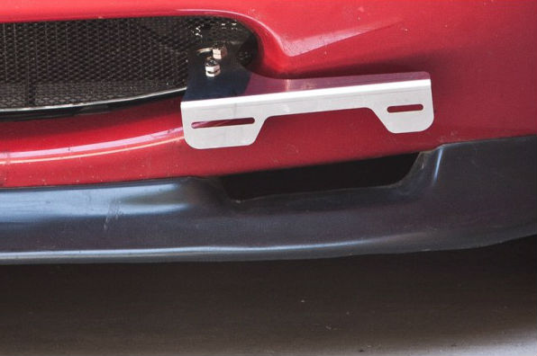 Jass Performance Offset Wide License Plate Bracket Alfa