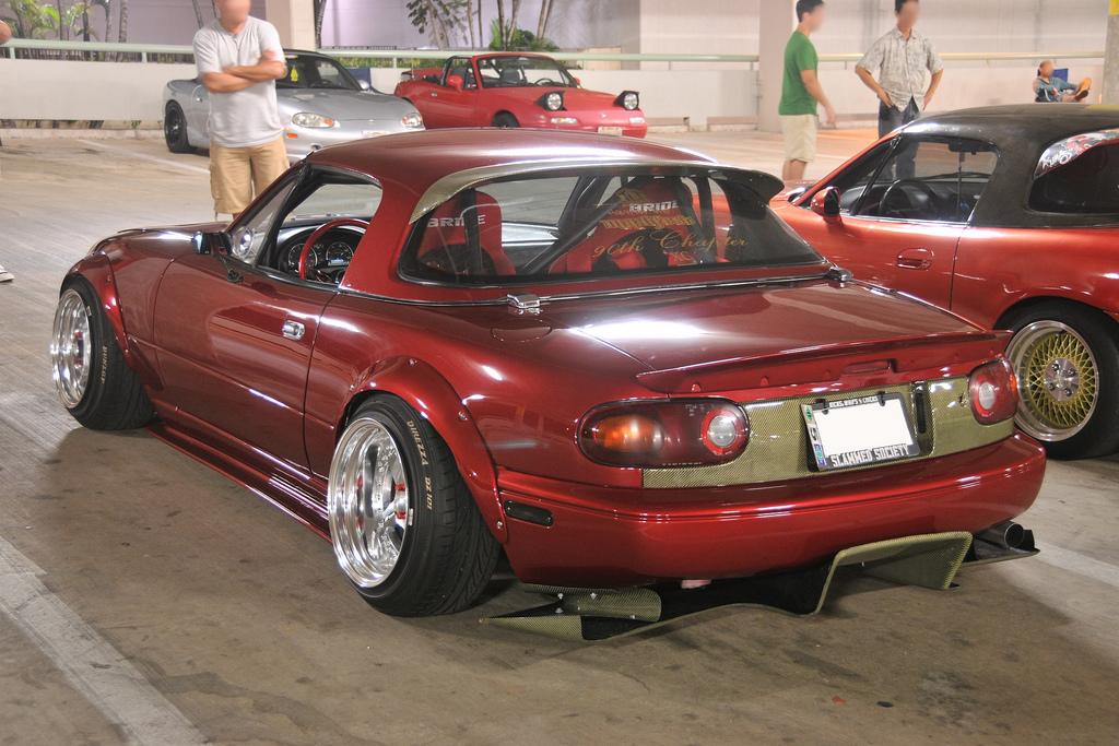 Carbonmiata Hardtop Spoiler For Na Nb Mazda Miata Mx 5