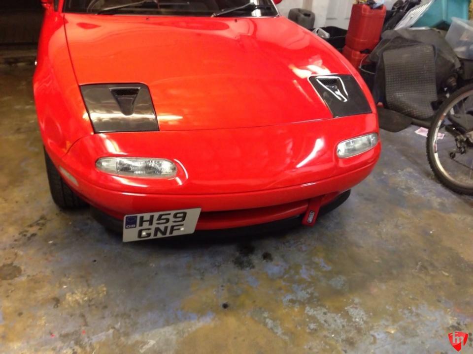Carbonmiata Headlights Covers Both Vented Mazda Miata