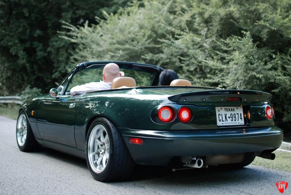 Carbonmiata Quad Led Tail Lights Rear Panel For Na Mazda