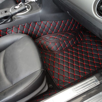 CarbonMiata Rear Diffuser (OEM Exhaust) for NC | Mazda Miata MX-5