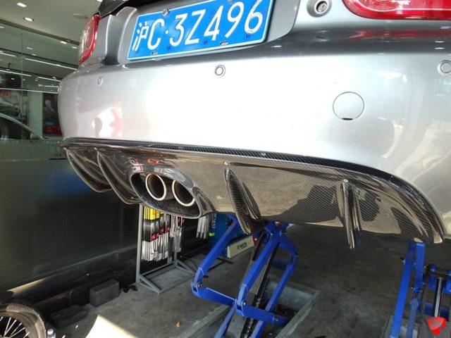 Carbonmiata Rear Diffuser Center Exhaust For Nc Mazda