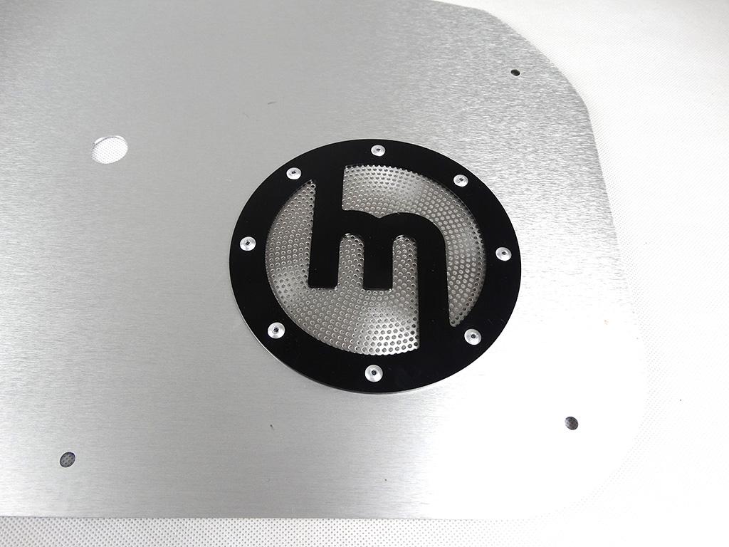 Carbonmiata Aluminium Speaker Covers Set Of 2 Mazda