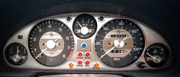 Jass Performance Vintage Style Cluster Bezel Stainless
