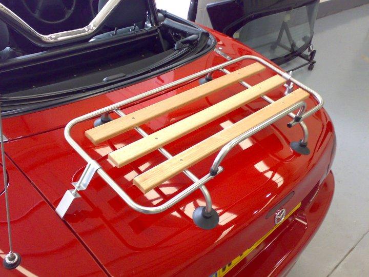 Classic Wood Amp Chrome Luggage Rack Mazda Miata Mx 5