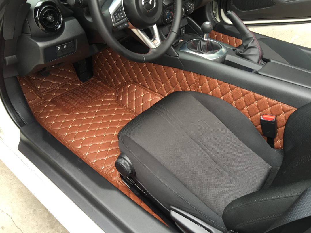 Carbonmiata Quilted Floor Mats For Nd Premade Material