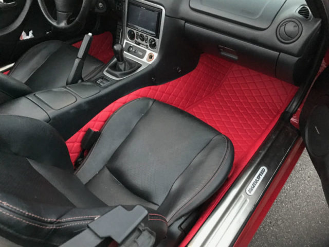 Carbonmiata Quilted Floor Mats For Na Nb Premade Material