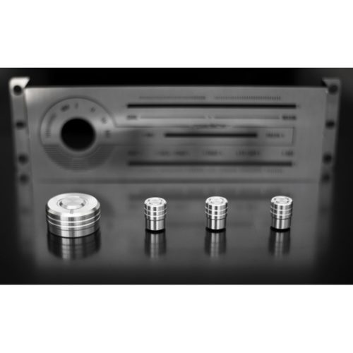 Heater Panel Hvac Aluminium Knobs A C Full Set Mazda