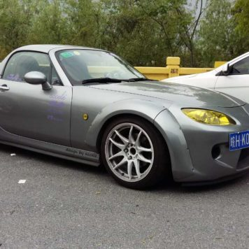 CarbonMiata Wide Overfenders Kit for NC2 (8 pieces kit) | Mazda